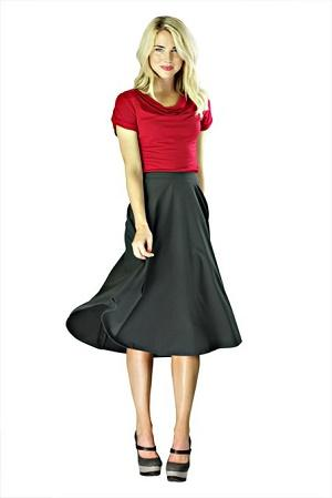 Fashionable dresses styles skirts