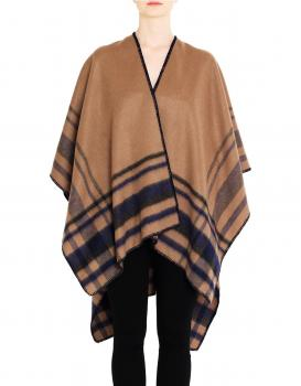 Day wool blend poncho
