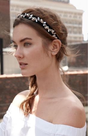 Nordstrom's Velvet Headband