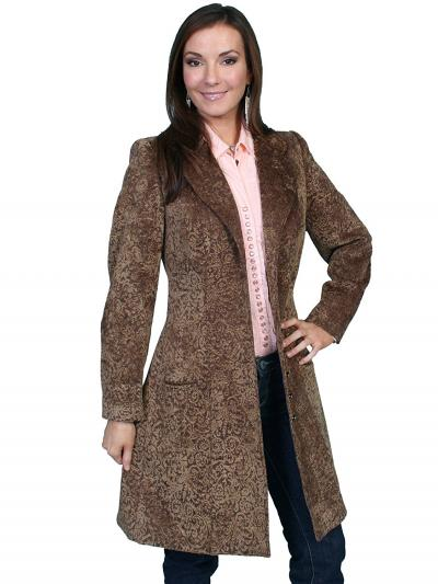 Scully Women's Chenille Frock Coat