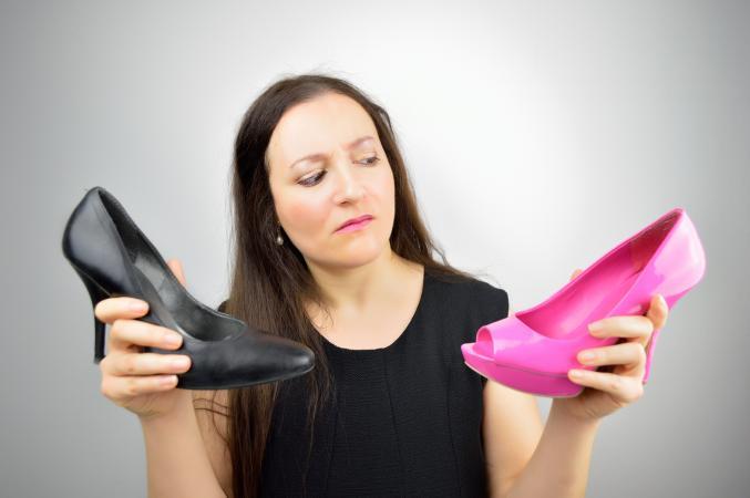 Choosing the best shoe