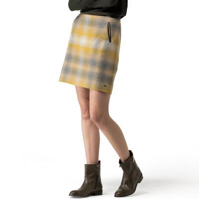Sunset Plaid Skirt