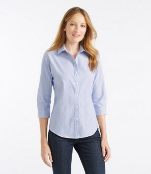 Wrinkle-Free Pinpoint Oxford Shirt