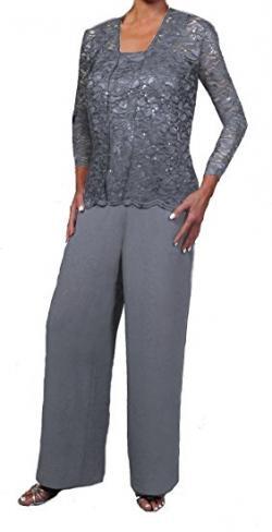 Three piece pant suit