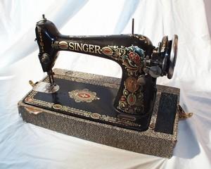 restore antique sewing machine