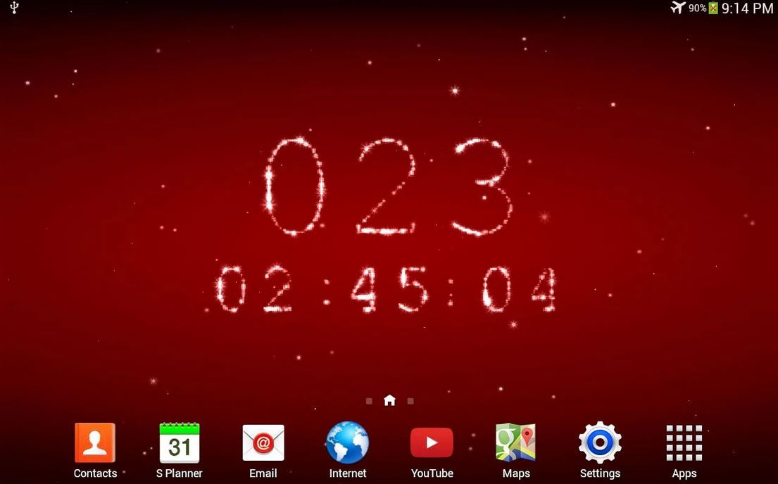 Calendar Live Wallpaper : Live christmas countdown screensaver