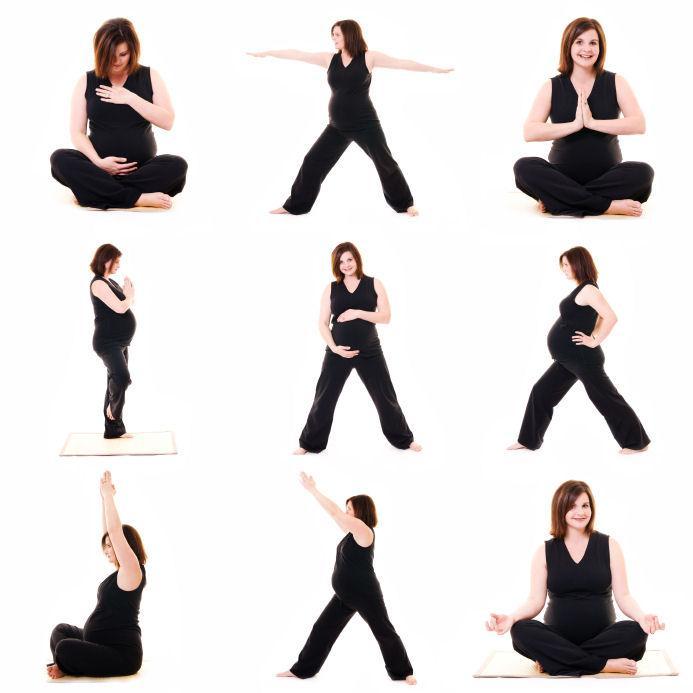 Pregnancy yoga poses to avoid