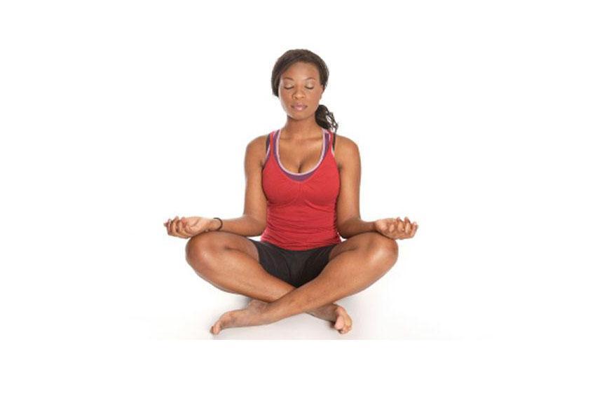 Yoga Meditation Pose Hatha Yoga Pose...