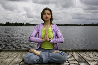 lotus position in Kundalini yoga practice