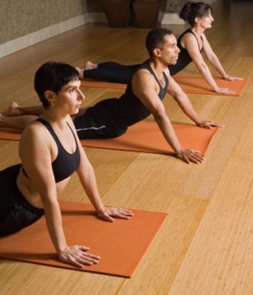 yoga trio
