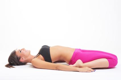 Reclining Hero Pose  sc 1 st  Yoga - LoveToKnow & Yoga Postures for Infertility islam-shia.org