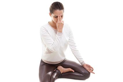 Breathing is central to yoga practice
