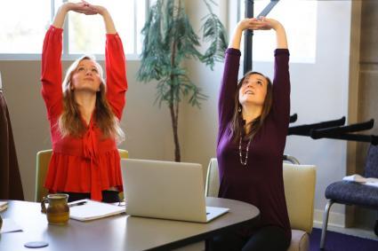 yoga stretching