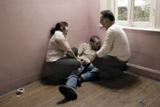 Family dealing with addiction