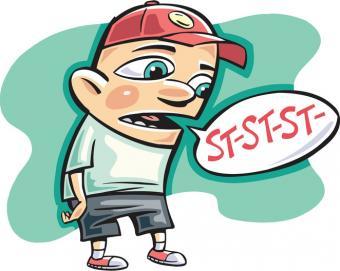 boy stuttering