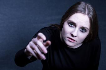depressed teenage girl searching for help