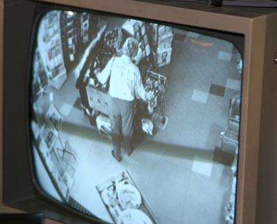 Store security camera