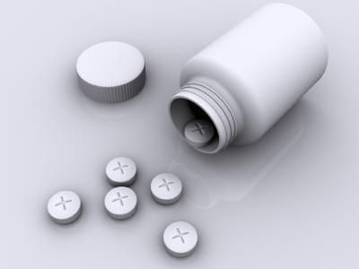 Bottle of prescription medication