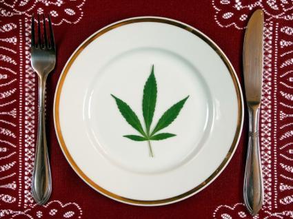 Marijuana Plate