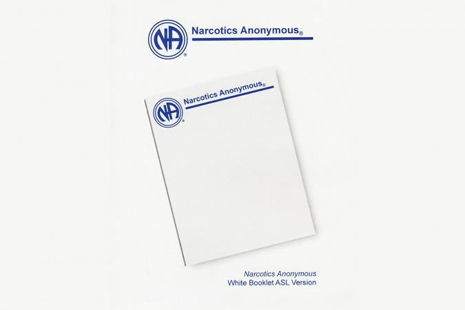 Narcotics Anonymous White Booklet