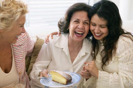Mujeres celebran