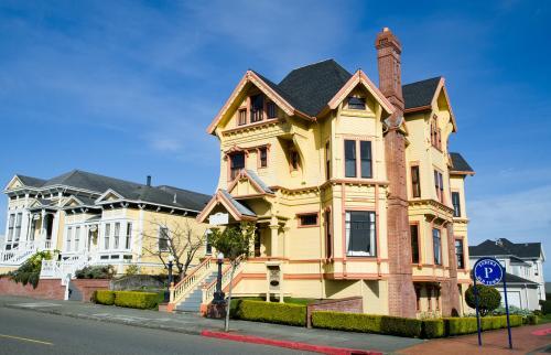 Casas victorianas en el centro de Eureka
