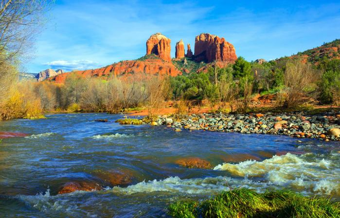 Cathedral Rock cerca de Sedona, Arizona