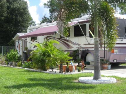 Parque RV Alligator Park, Florida