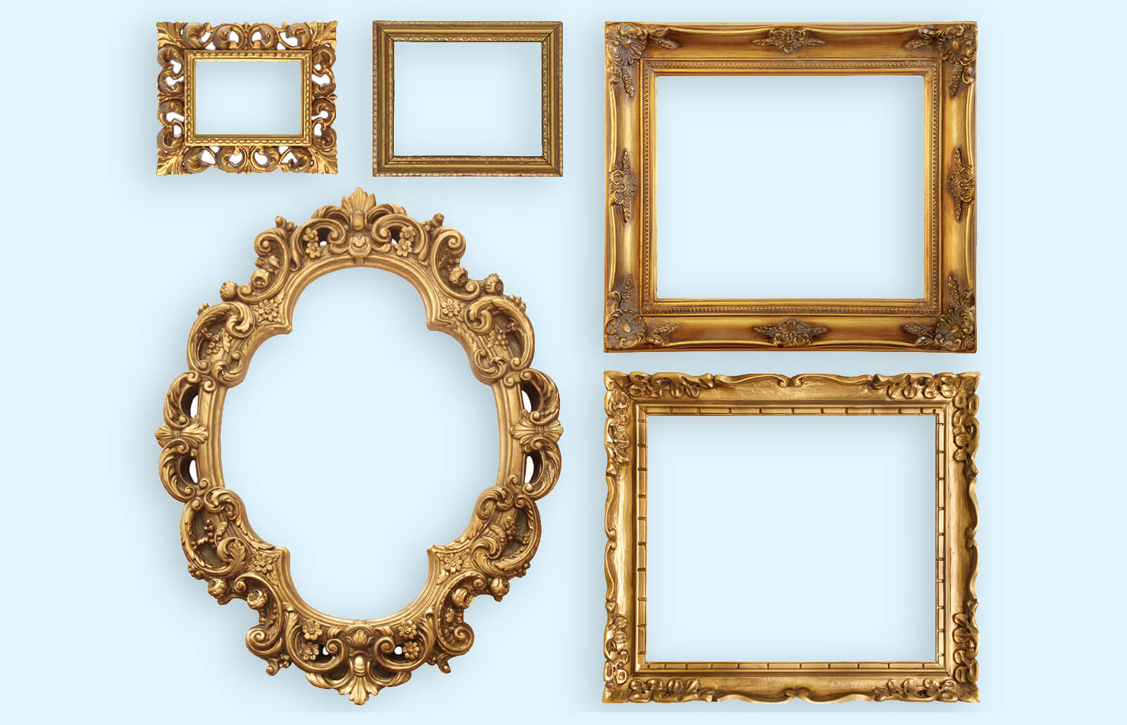 Antique Picture Frame Styles Values Identification Lovetoknow