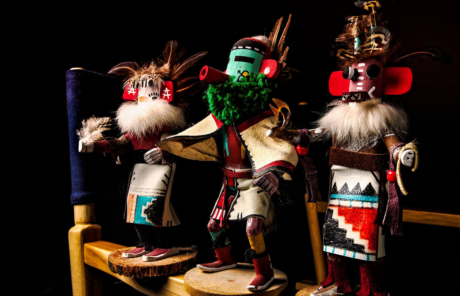 Kachina dolls collection