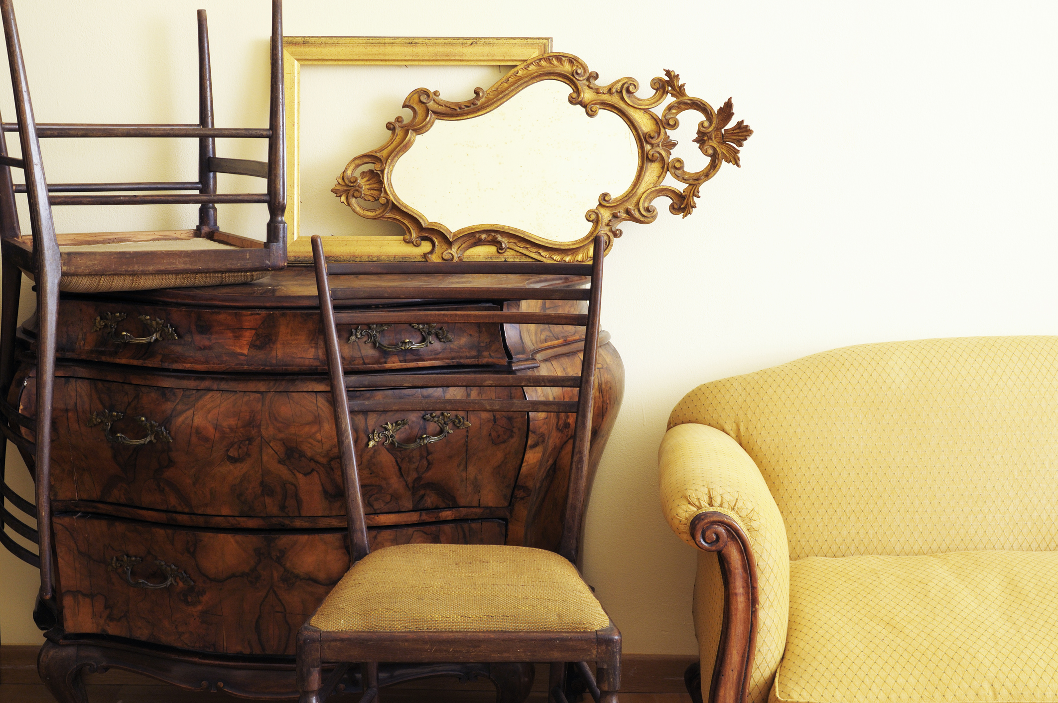 Antique Ladder Back Chair Styles And Values Lovetoknow