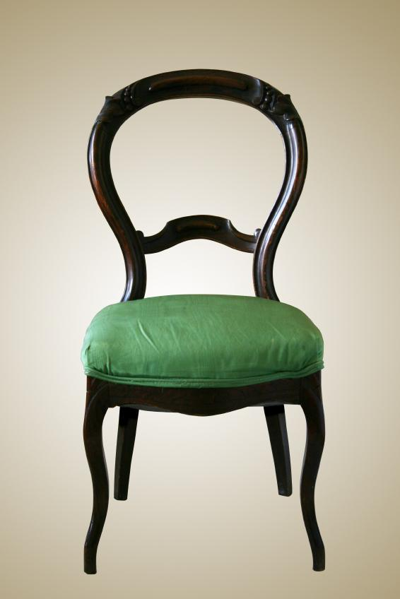 bustle back - Antique Chairs LoveToKnow