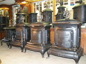 late victorian stove