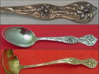 Identifying Antique Silverware Patterns