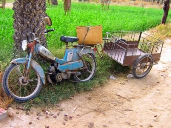 Antique Motorized Bicycles