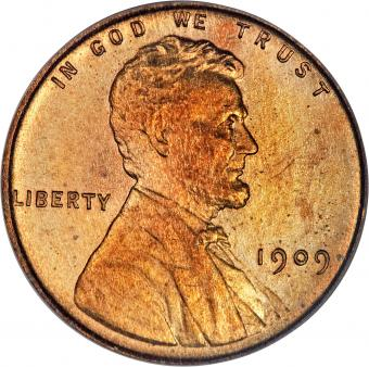 1909 penny