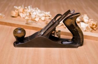 antique wooden plane