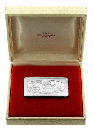 1974 Franklin Mint Silver Ingot