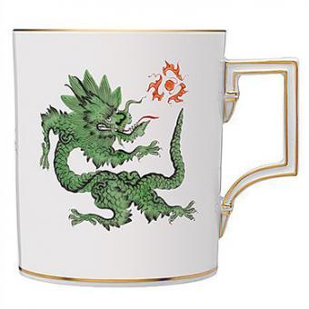 Meissen's Ming Dragon in Green