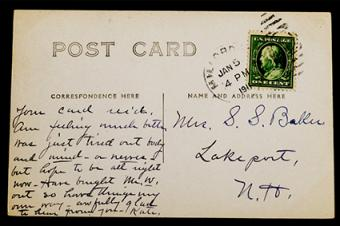 Value of Old Postcards