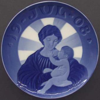 Royal Copenhagen Madonna and Child