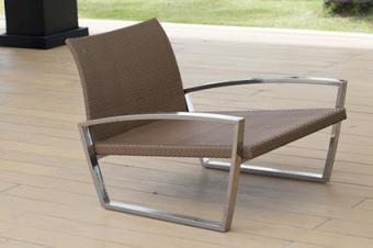 Steel Framed Modern Chair