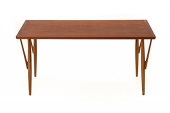 Danish modern Hans Wegner dining table