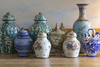 old vases