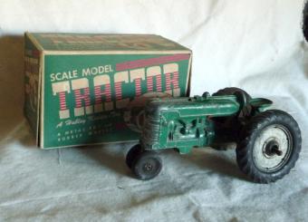 Hubley metal tractor