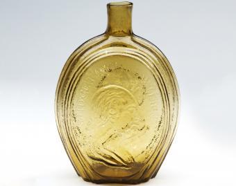 Antique Washington bottle // photo courtesy of Norman C. Heckler & Company