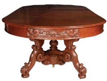Joan Bogart's Belter dining table