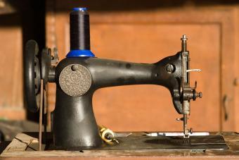 Antique Treadle Sewing Machine