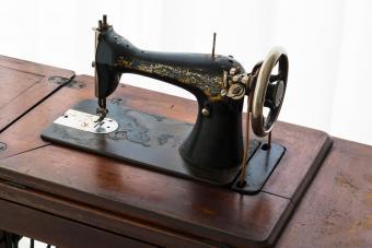 Vintage Treadle Sewing Machine