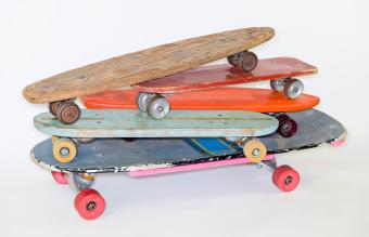 The Cool History of Vintage Skateboards